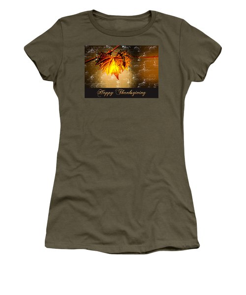 Thanksgiving Card Women's T-Shirt