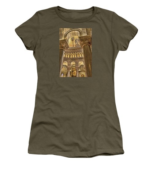 The Angel Women's T-Shirt (Junior Cut) by Maria Coulson
