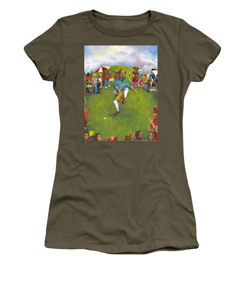 The Angry Golfer  Women's T-Shirt (Athletic Fit)