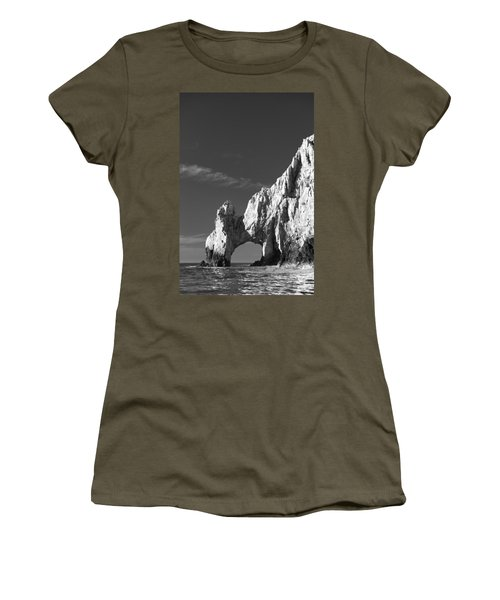 The Arch In Black And White Women's T-Shirt