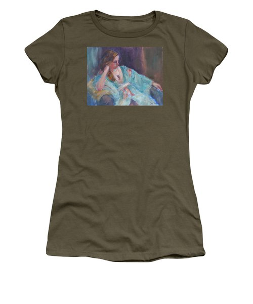 Inner Light - Original Impressionist Painting Women's T-Shirt