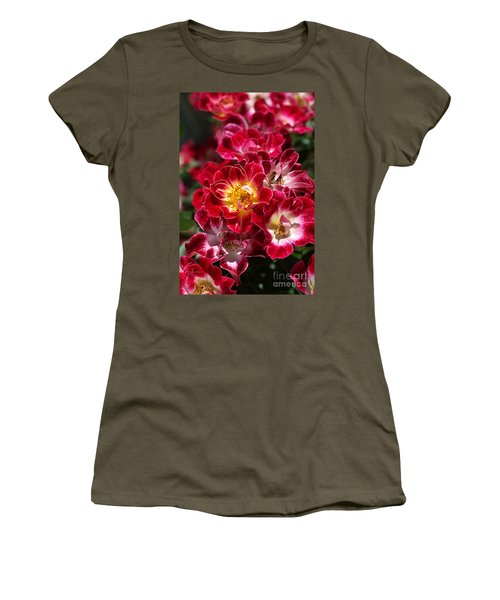The Beauty Of Carpet Roses  Women's T-Shirt