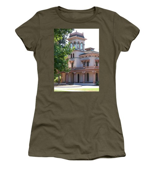 The Bidwell Mansion Women's T-Shirt (Athletic Fit)