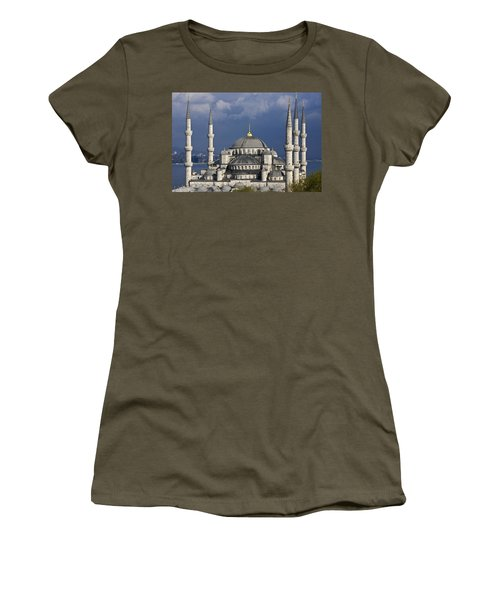 The Blue Mosque In Istanbul Women's T-Shirt (Athletic Fit)