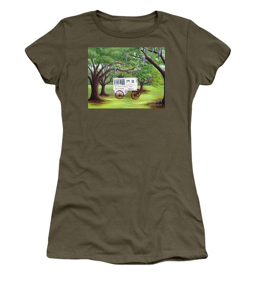 The Candy Cart Women's T-Shirt (Athletic Fit)