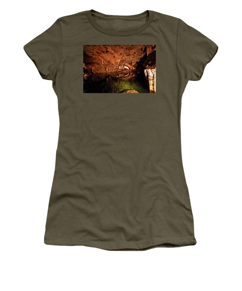 The Cave Women's T-Shirt (Athletic Fit)