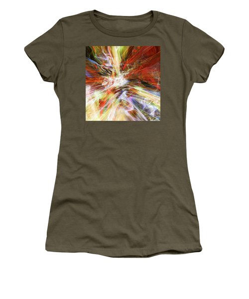 Women's T-Shirt (Junior Cut) featuring the digital art The Cleansing by Margie Chapman