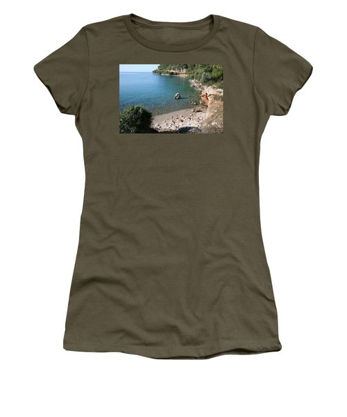 Women's T-Shirt (Junior Cut) featuring the photograph The Coast To Oren  by Tracey Harrington-Simpson