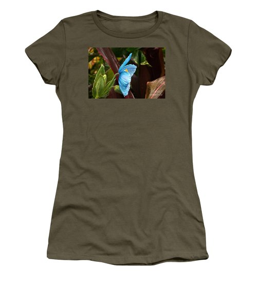 The Colors Of The Himalayan Blue Poppy Women's T-Shirt