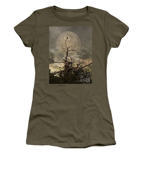 The Crow Tree Women's T-Shirt (Athletic Fit)