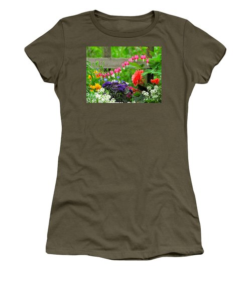 The Dance Of Spring Women's T-Shirt (Junior Cut) by Sean Griffin