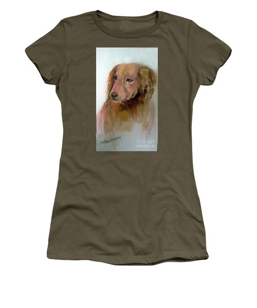 The Doggie Women's T-Shirt (Athletic Fit)