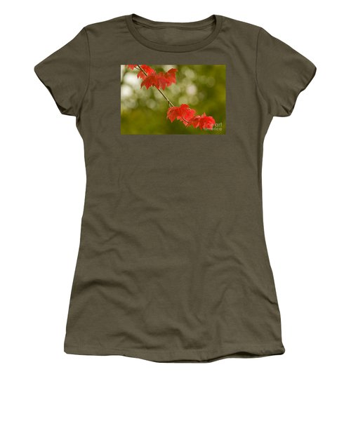 The Essence Of Autumn Women's T-Shirt (Junior Cut) by Nick  Boren