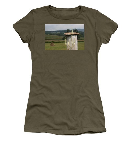 Fall Harvest Women's T-Shirt (Junior Cut) by Yvonne Wright