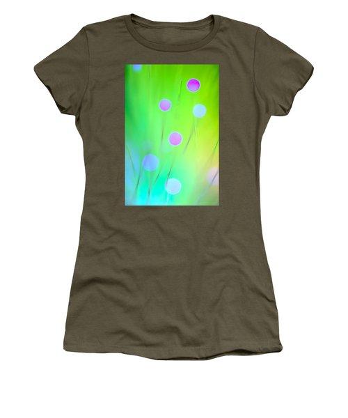 Women's T-Shirt (Junior Cut) featuring the photograph The Garden by Dazzle Zazz