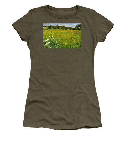 The Glory Of Spring Women's T-Shirt (Athletic Fit)