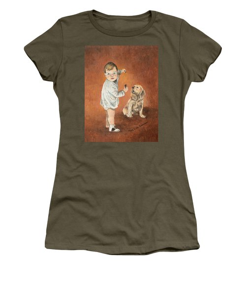 The Guilty Ones Women's T-Shirt (Junior Cut) by Mary Ellen Anderson
