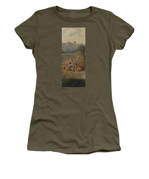 The Harvest Women's T-Shirt (Athletic Fit)