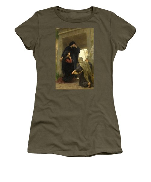 The Holy Women At The Tomb Women's T-Shirt (Athletic Fit)