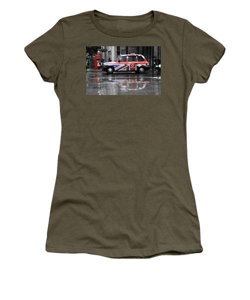 The Iconic London Black Cab Women's T-Shirt