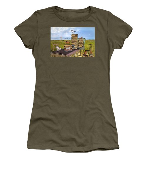 The Library Your Local Treasure Women's T-Shirt