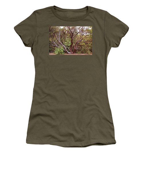 The Manzanita Tree Women's T-Shirt (Athletic Fit)