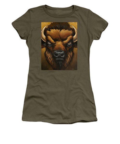 The Mighty Bison Women's T-Shirt
