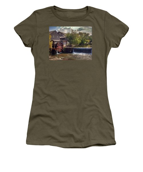 The Old Mill Women's T-Shirt (Junior Cut) by Janice Spivey