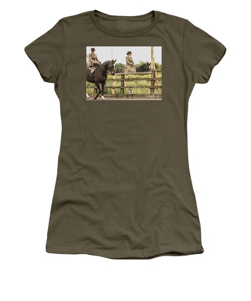 The Other Side Of The Saddle Women's T-Shirt (Athletic Fit)