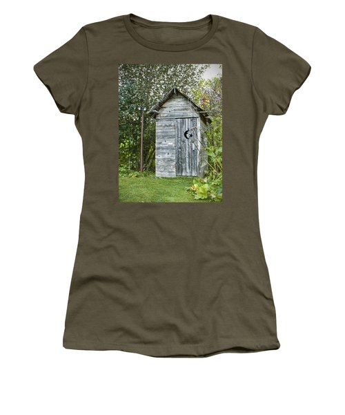 The Outhouse Women's T-Shirt (Athletic Fit)