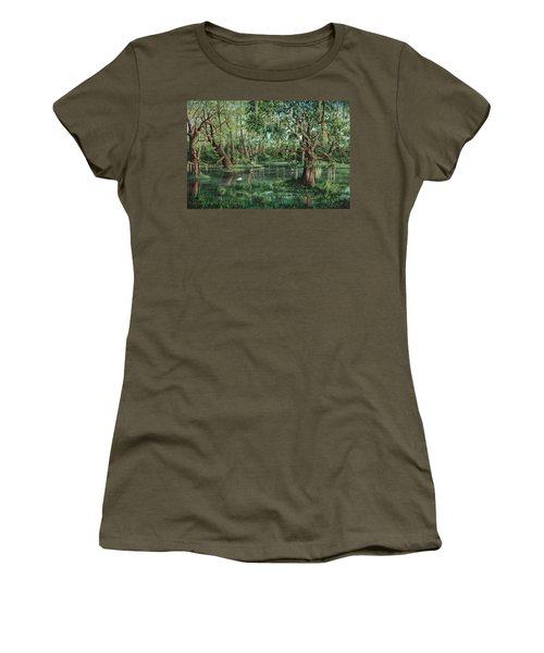 The Preacher And His Flock Women's T-Shirt