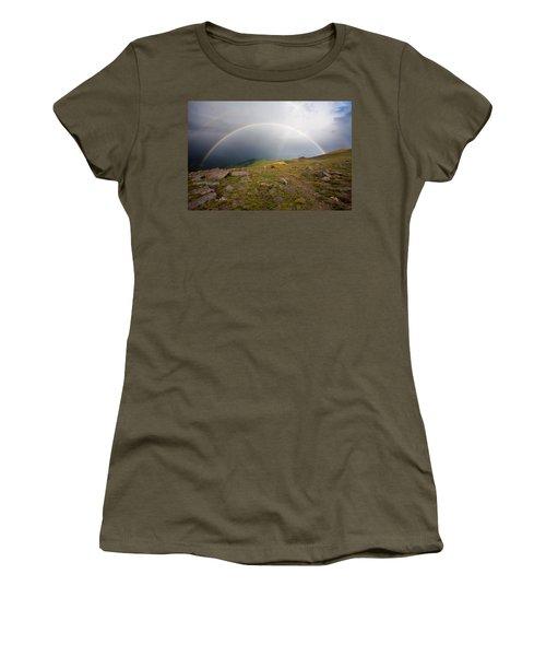 Women's T-Shirt (Junior Cut) featuring the photograph The Promise by Jim Garrison