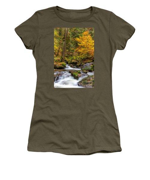 Cascades And Waterfalls Women's T-Shirt