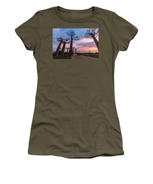 The Road To Morondava Women's T-Shirt (Athletic Fit)