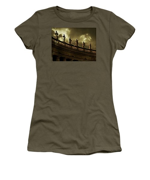 Women's T-Shirt (Junior Cut) featuring the photograph The Saints  by Micki Findlay