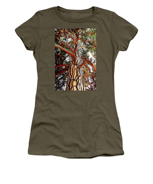 Women's T-Shirt (Junior Cut) featuring the photograph The Strong One by Joseph J Stevens