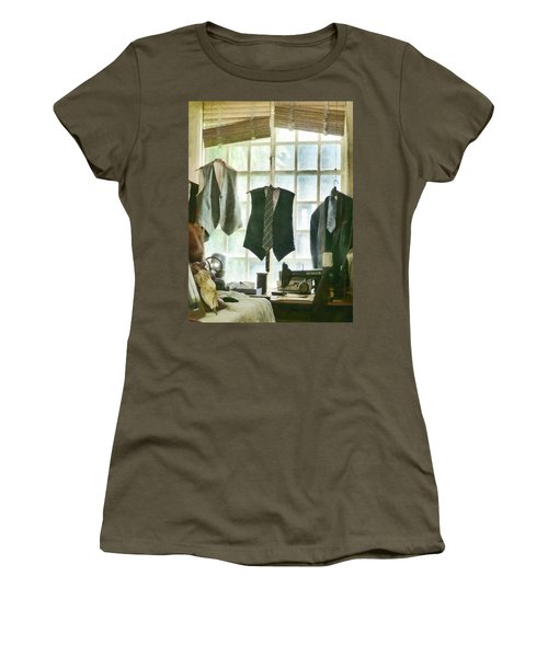 The Tailor Shop Women's T-Shirt (Athletic Fit)