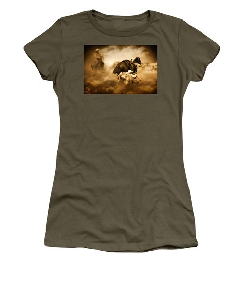 The Takedown Women's T-Shirt (Junior Cut) by Davandra Cribbie
