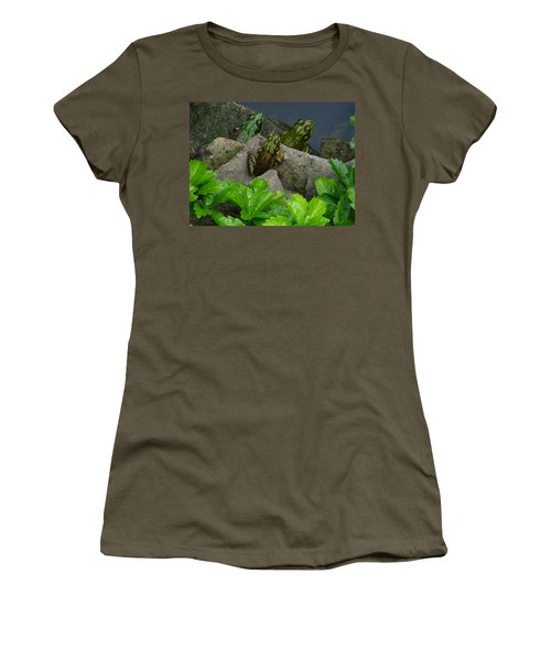Women's T-Shirt (Junior Cut) featuring the photograph The Three Amigos by Raymond Salani III