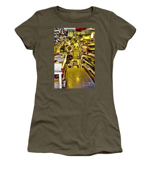 The Torpedo Bay Women's T-Shirt (Junior Cut) by Jason Abando