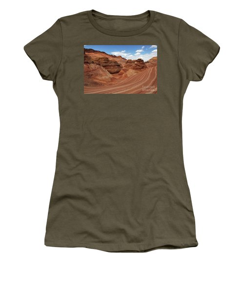The Wave Center Of The Universe Women's T-Shirt (Athletic Fit)