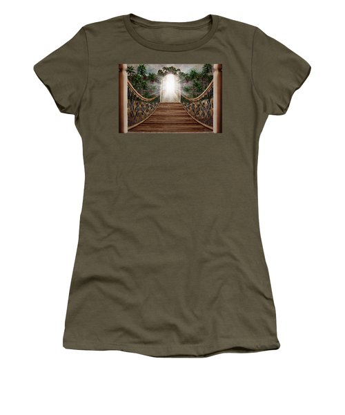 The Way And The Gate Women's T-Shirt (Athletic Fit)