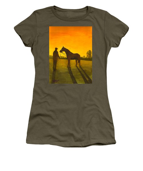 The Whisperer Women's T-Shirt (Athletic Fit)