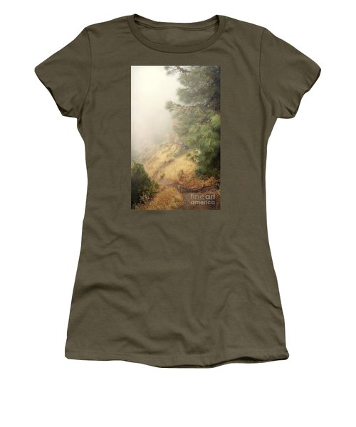 Women's T-Shirt (Junior Cut) featuring the photograph There And Back Again 2 by Ellen Cotton
