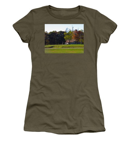 Women's T-Shirt (Junior Cut) featuring the photograph This Old House by Nick Kirby