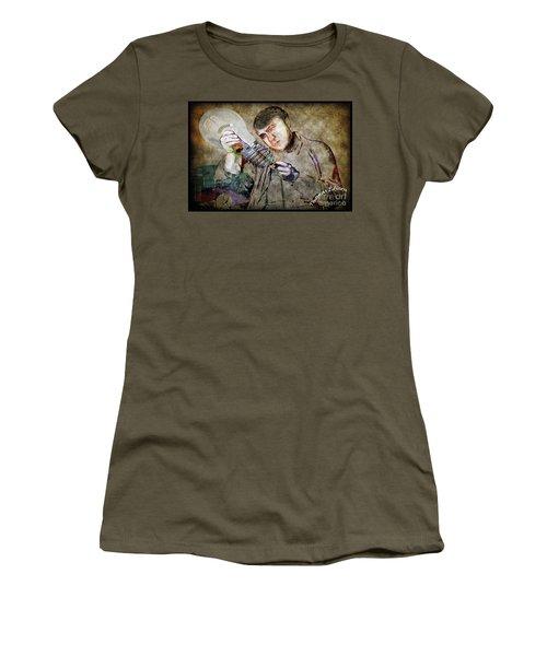 Women's T-Shirt featuring the photograph Thomas Alva Edison by Gary Keesler