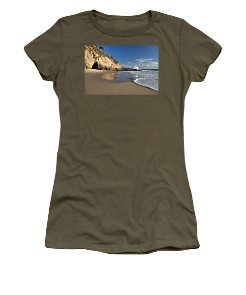 Thousand Steps Beach At Low Tide Women's T-Shirt
