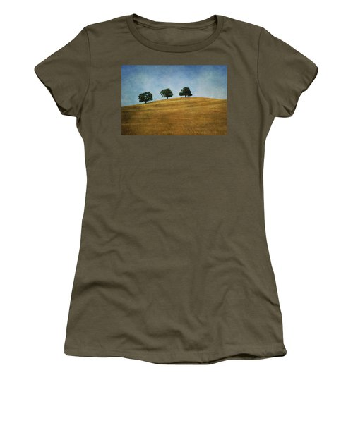 Three On A Hill Women's T-Shirt (Athletic Fit)