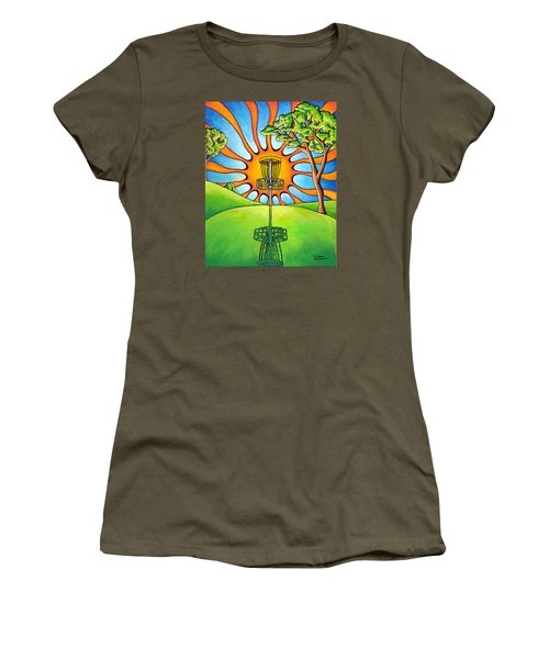 Throw Into The Light Women's T-Shirt (Athletic Fit)
