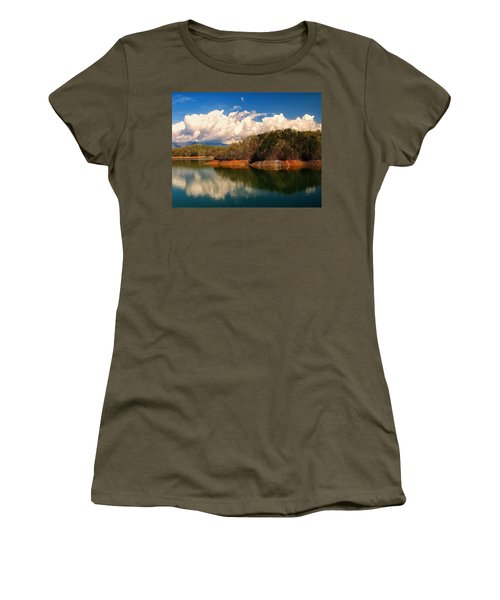 Thunderstorm Rolling Over The Smokies Women's T-Shirt (Athletic Fit)